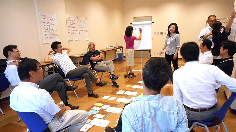 システムコーチングセッションの様子