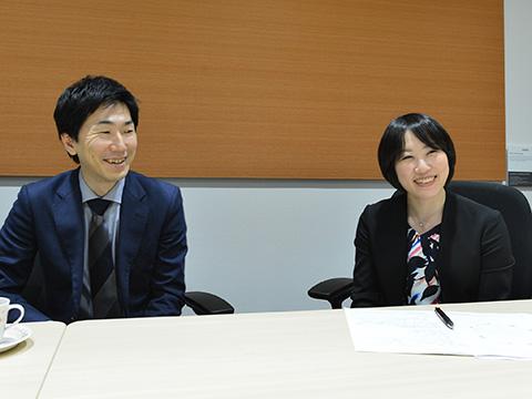 左:河本智さん/右:永関円さん