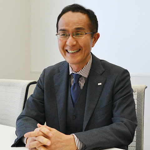 代表取締役社長 小野康博 さん